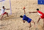 Iran Loses to Pakistan in Asian Beach Handball Championship