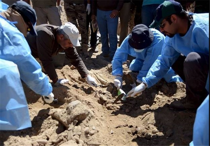 Iraqi Forces Uncover Mass Grave near Fallujah
