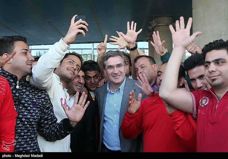 ورود برانکو به تهران
