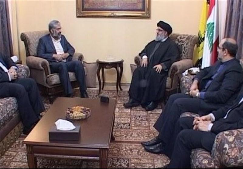 فرستاده ویژه رئیسجمهور ایران با نصرالله دیدار کرد