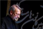 دیدار علی لاریجانی با خانواده شهدای مدافع حرم