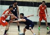 تیم بسکتبال شهرداری اراک بازی را به نیروی زمینی واگذار کرد
