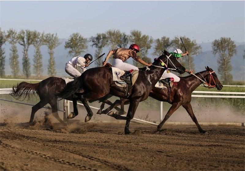 هفته هفتم مسابقات اسبدوانی کورس پائیزه در گنبدکاووس برگزار شد