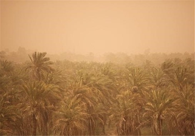 """هوای خوزستان تا دوشنبه """"خاکی"""" است"""