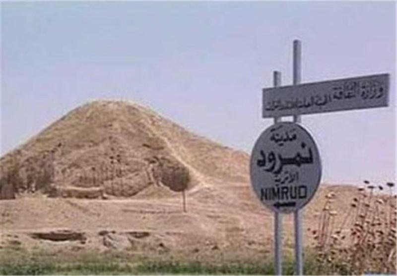داعش ینشر شریطا مصورا یظهر تدمیر مدینة نمرود الاثریة فی العراق