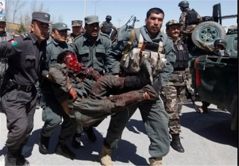 حمله به پلیس افغانستان