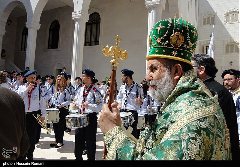 Christians Celebrate Easter in Syria