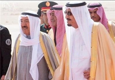 امیر کویت پادشاه عربستان