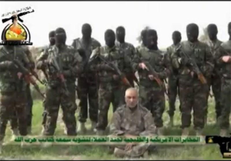 """کتائب حزب الله العراق تعلن اعتقال """"عمیل"""" مأجور لصالح المخابرات الامریکیة والکویتیة"""