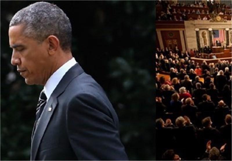 صحیفة امریکیة: قرار لجنة مجلس الشیوخ الامریکی سیضعف مکانة اوباما فی المفاوضات النوویة