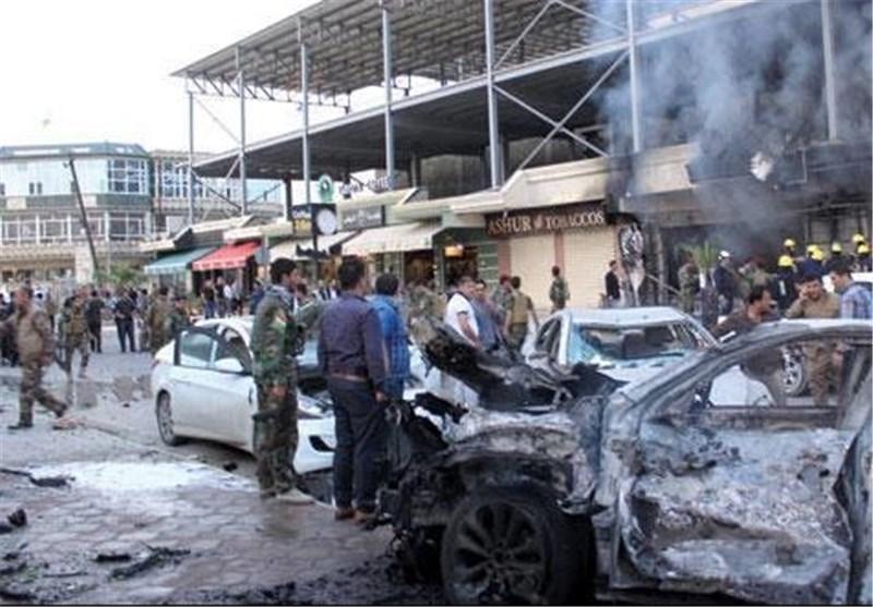 """انفجار سیارة قرب القنصلیة الأمریکیة فی أربیل.. و""""داعش"""" یتبنى العملیة"""