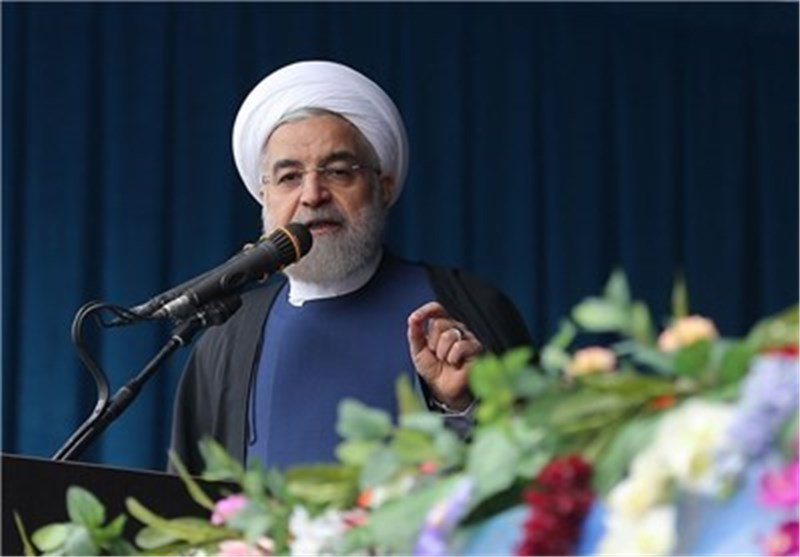 President Highlights Iranian Army's Role in Regional Peace, Stability