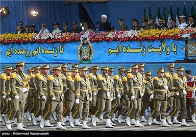 Iran's Armed Forces mark National Army Day