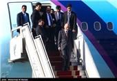 ورود رئیس جمهور افغانستان به ایران