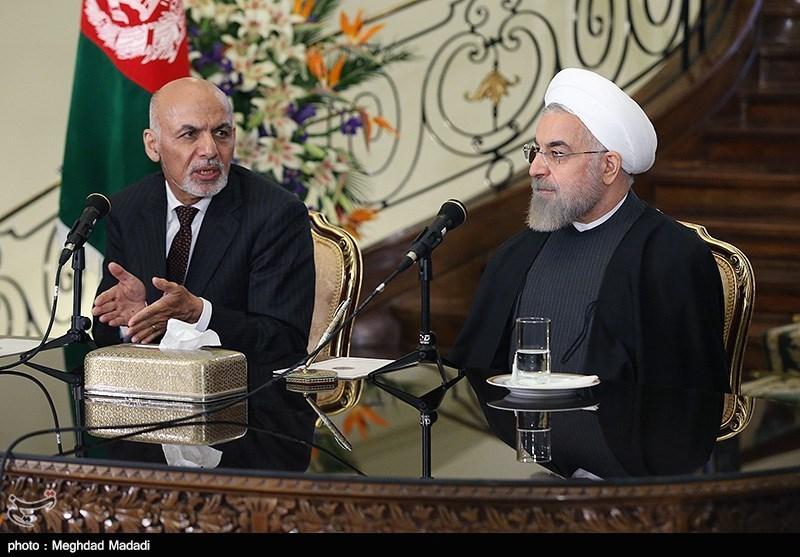 مراسم استقبال رسمی از رئیس جمهور افغانستان