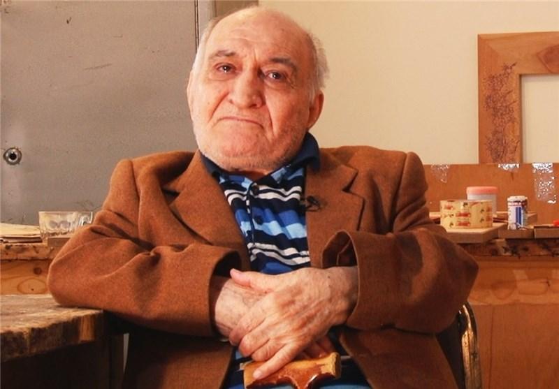 استاد ایرانی که آثارش در کاخ سفید است، یک آرزو دارد + فیلم