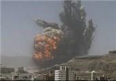 یمن کے مختلف علاقوں پر جارح سعودی اتحاد کی بمباری