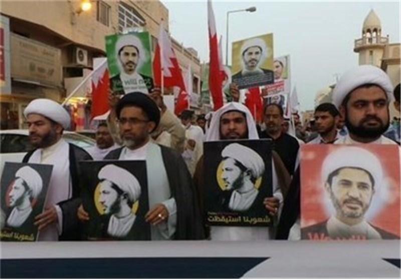 تظاهرات شعبیة فی البحرین تطالب بالإفراج عن الأمین العام لجمعیة الوفاق الوطنی الاسلامیة