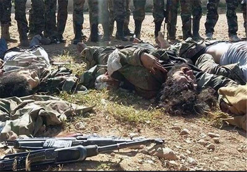 الجیش السوری یقضی على 40 إرهابیاً جنوباً ویقطع طرق إمدادهم القادمة من الأردن