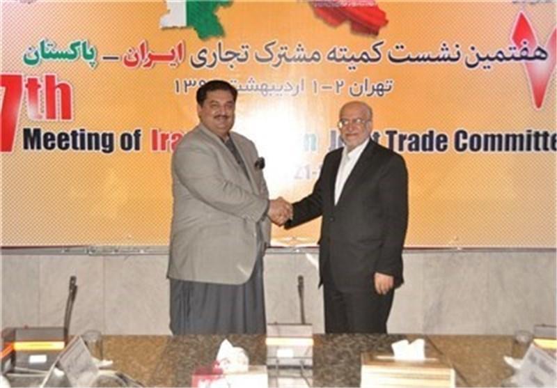 ایران وباکستان توقعان اتفاقااقتصادیا بقیمة 5 ملیارات دولار