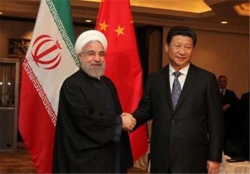 الرئیسان الایرانی والصینی یبحثان العلاقات بین طهران وبکین ویؤکدان ضرورة تطویرها
