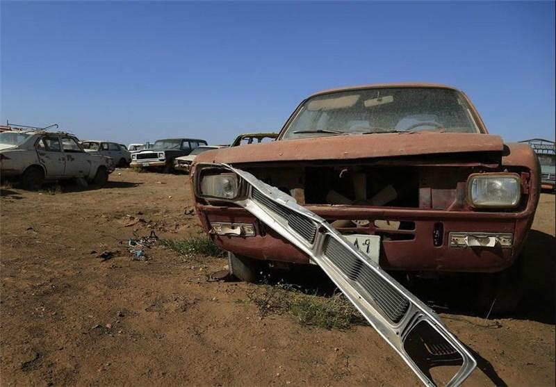 معضلی دیگر بهنام خودروهای فرسوده در سنندج