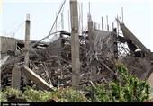 ریزش ساختمان در حال ساخت - مشهد
