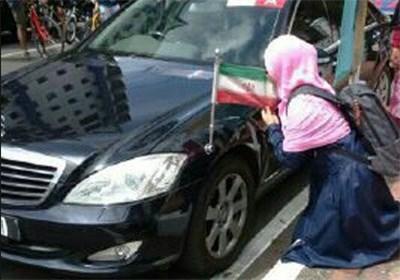 احترام به پرچم ایران