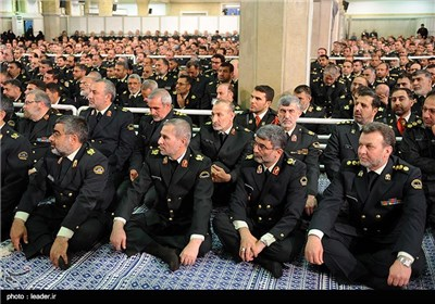 Iranian Police Commanders, Officials Meet with Supreme Leader