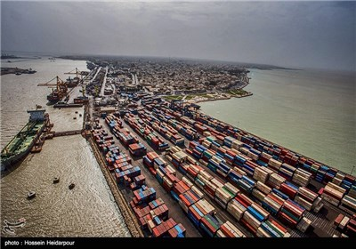 Bushehr Port on the Rim of Persian Gulf
