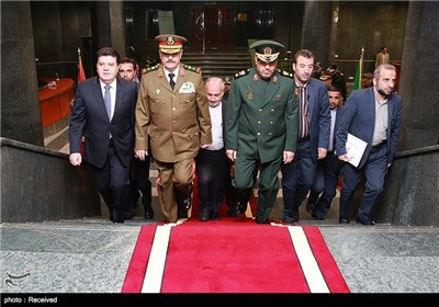 Syrian Defense Minister in Tehran for Talks