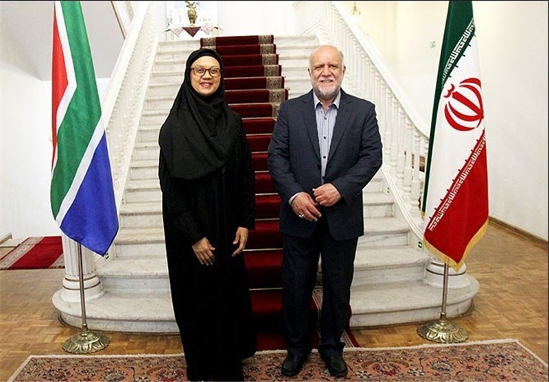 Iran, South Africa Discuss Closer Cooperation in Oil, Gas Sectors