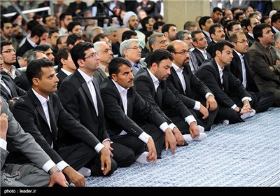 Iranian Workers Meet with Supreme Leader