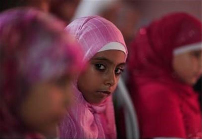 دختر مسلمان فرانسه