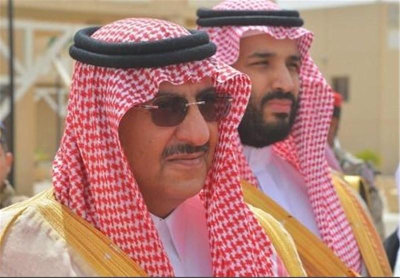 نایف و محمد بن سلمان جانشین ولیعهد