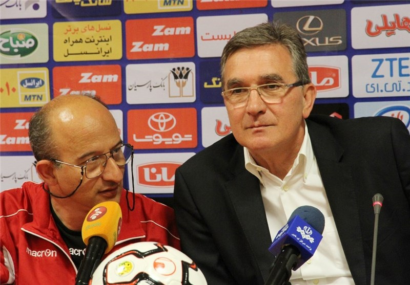 Iran's Persepolis Coach Branko Calls for Fans' Support against Bunyodkor