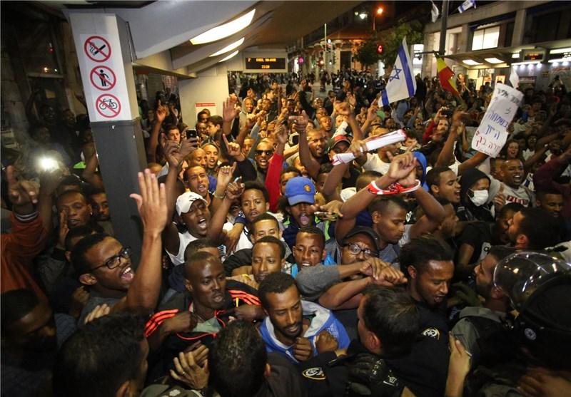 مظاهرات فی کیان الاحتلال ضد بنیامین نتنیاهو