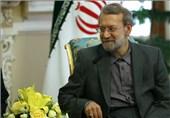 لاریجانی با خانواده شهید سلیمانیان در خلجستان قم دیدار کرد