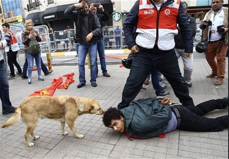 تظاهرات روز کارگر ترکیه