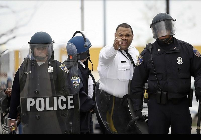 ادامه اعتراضات در بالتیمور - امریکا