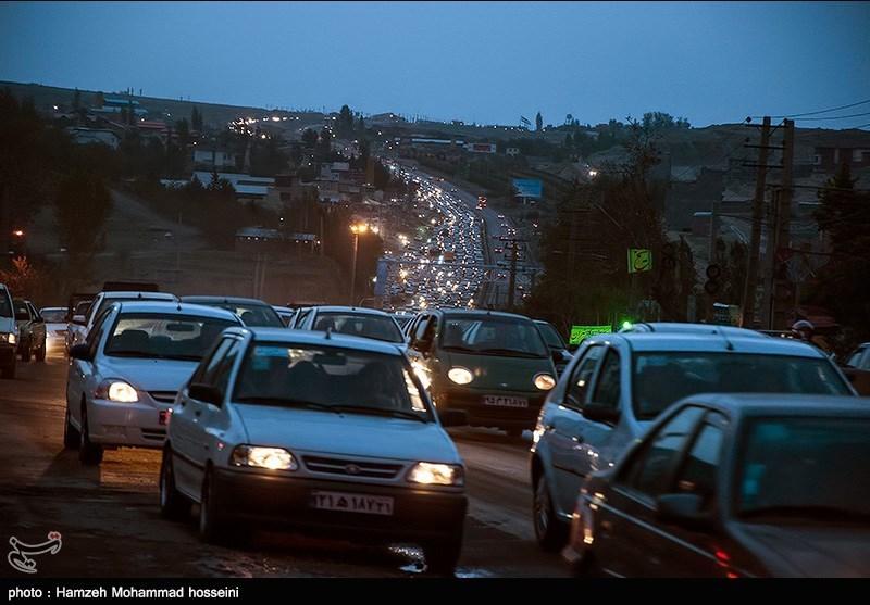ترافیک سنگین محور تهران فیروزکوه