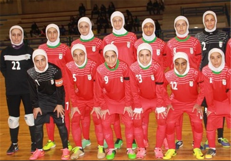 Iran Drawn with Uzbekistan in AFC Women's Futsal Championship