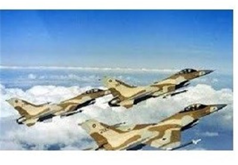 تدریبات مشترکة لسلاحی الجو الامریکی والصهیونی