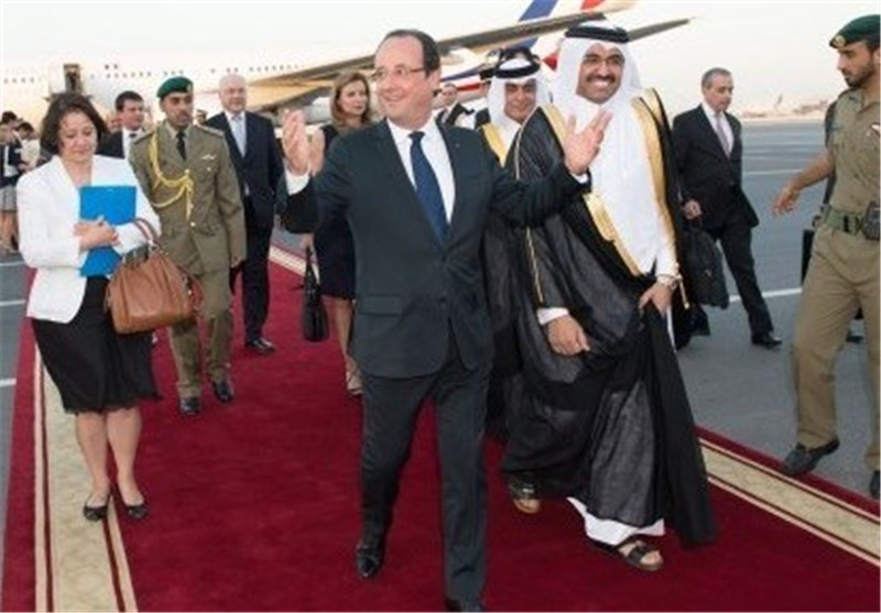 Hollande to Sell French Fighter Jets on Start of Persian Gulf Tour