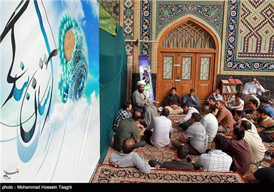 اعتکاف در مسجد گوهرشاد- مشهد