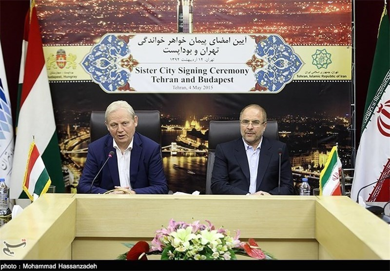 Tehran, Budapest Declared 'Sister Cities'