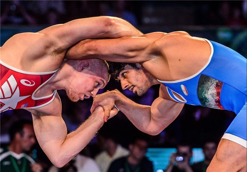 Iranian Wrestlers Win Two Gold Medals at Matteo Pellicone