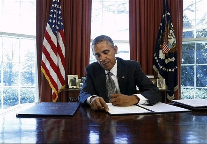 أوباما یمدد الحظر المفروض على إیران الاسلامیة عاماً آخر