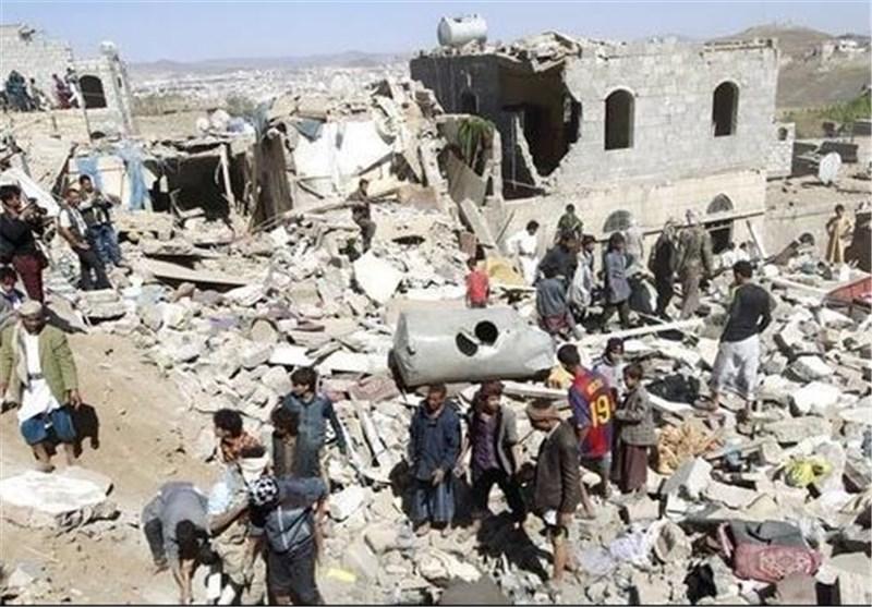 جنگ یمن تخریب منازل مسکونی