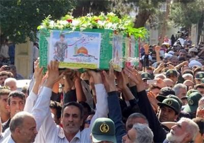 شهید مدافع حرم ساوه 1